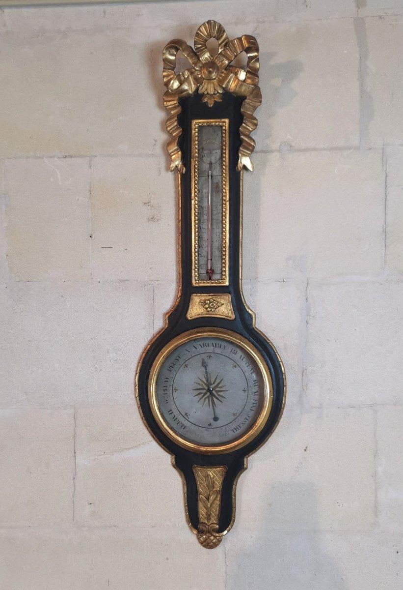 Baromètre Néoclassique D'époque Louis XVI, XVIIIe Siècle.