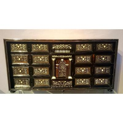 "Cabinet Florentin Italy Seventeenth Century ""stipo Monetiere"""