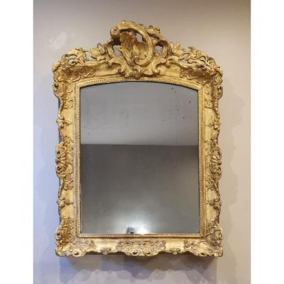 A Late Régence Period Giltwood Mirror, Early 18th Century Circa 1730-1735