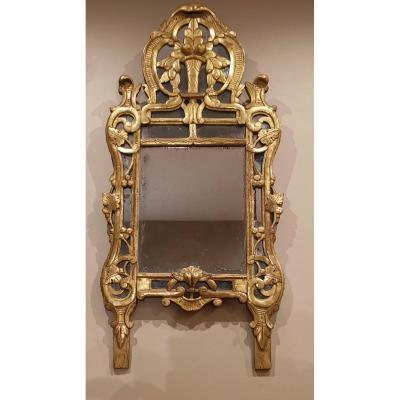 Miroir Provençal D'époque Louis XV Vers 1760 - 1770
