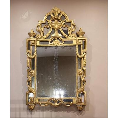 Miroir Néo-classique D'époque Louis XVI Vers 1780-1785.