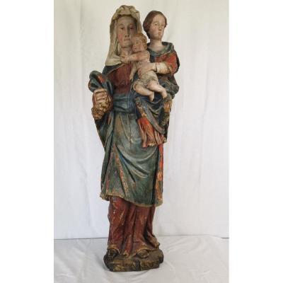 Saint Anne Trinitarian.
