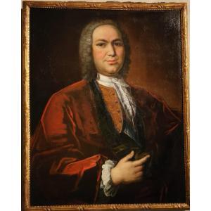 Portrait De Petrus Dupin, Magistrat Consulaire Par De Angeli En 1739.