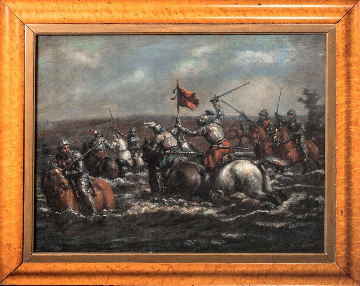 La Bataille De Towton 1461, 19e Siècle  École d'Anglais - Guerre Des Roses