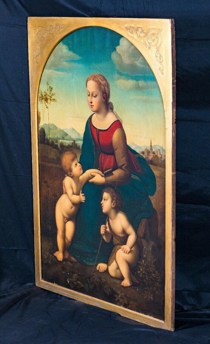 La Belle Jardinière, XIXe Siècle  d'Après Raphael (1483-1520) -photo-2