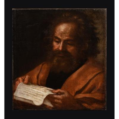 Saint Pierre, XVIIe Siècle  Vers 1650 Ecole Italienne Nord