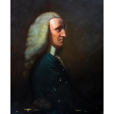 Portrait de George, 1er Lord Lyttelton (1709-1773)  John Lewis Reilly (1835-1922)