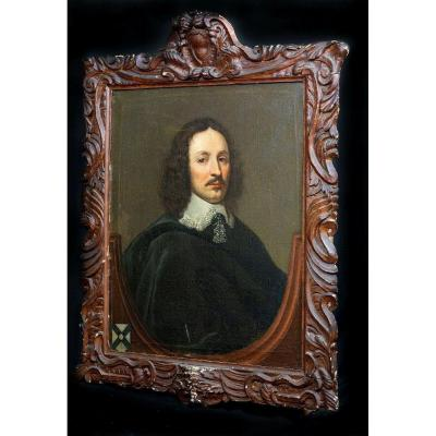 Portrait De William Yorke (1609-1666), XVIIe Siècle  Attribué à Edward Bower (fl. 1635 – 1667)