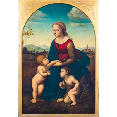La Belle Jardinière, 19th Century After Raphael (1483-1520)