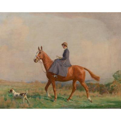 La Balade Du Matin, Vers 1910  Par Charles Edward Stuart