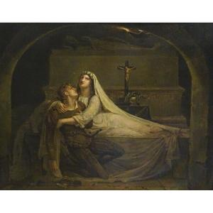 The Death Of Romeo, 19th Century English School - Dates 1823