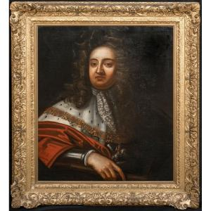 Portrait Of Prince George Of Denmark And Norway, Duke Of Cumberland (1653-1708)
