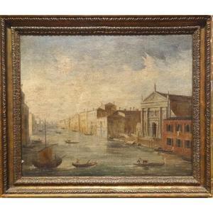 View Of Venice, 19th Century Italian School - Signed De Motti