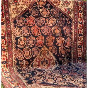 Antique Kashkuli Qashqai / Tapis Persan Du Sud-Ouest Vers 1900.