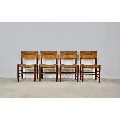 Chaises  Style Charlotte Perriand 1950s