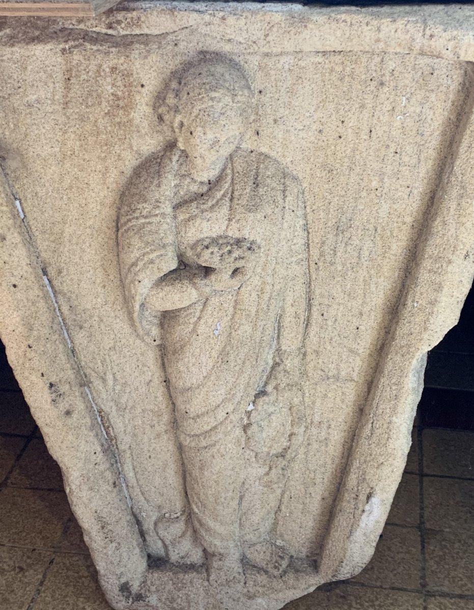 3 gdes clés de porte en pierre sculpté, Inde XVIIe / XVIIIe-photo-5