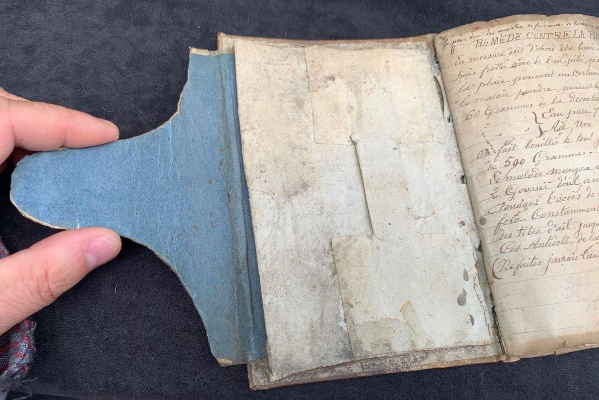 Manuscript Book Medicine & Freemasonry