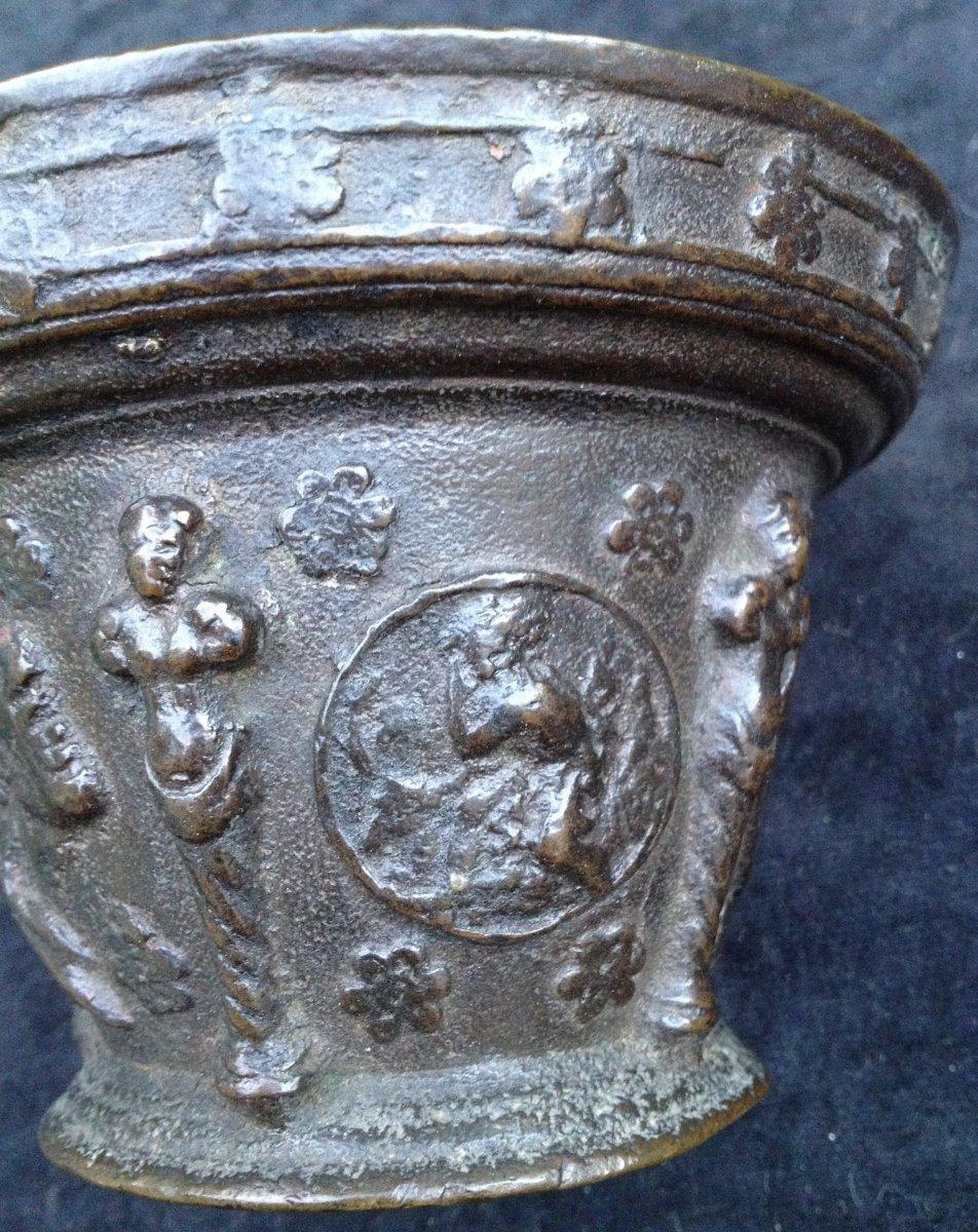 Mortier Maître d'If Le puy en Velay ? vers 1640 -photo-3