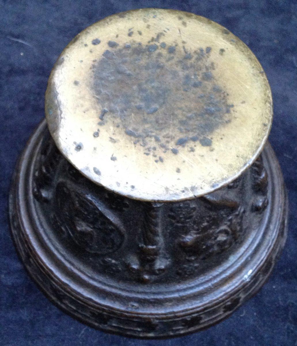 Mortier Maître d'If Le puy en Velay ? vers 1640 -photo-1