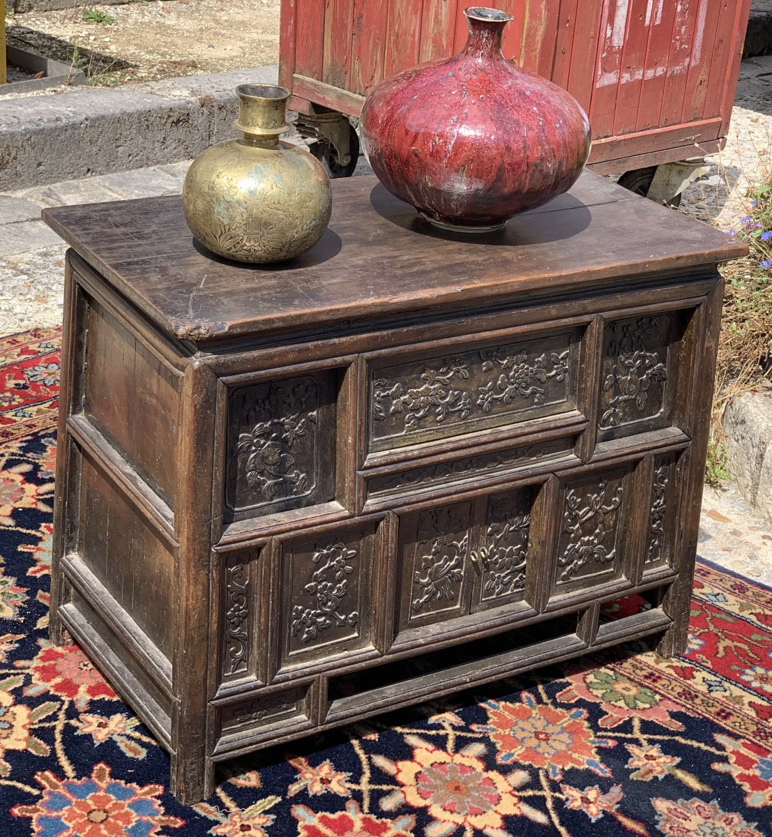 Small Chinese Cabinet For Literate People