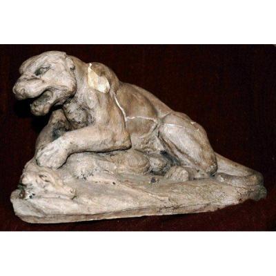 Matrice Sculpture Animalière Vidal l'Aveugle 186...