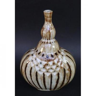 Nice Art Nouveau Primavera Ceramic Vase Before 1923