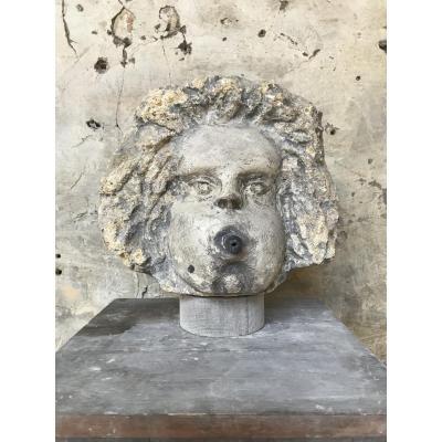 18th Century Fountain Head