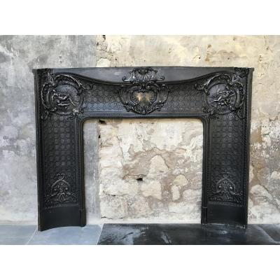 Fireplace Insert In Cast-iron