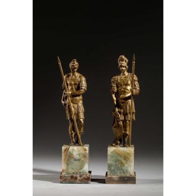 Cabinet Bronzes - Italy, 17th Century
