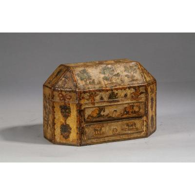Perfume Box In Arte Povera - Venice, 18th Century