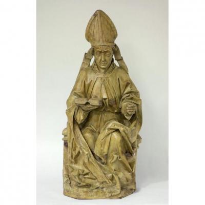 Figure De Retable Gothique - Allemagne, v. 1500