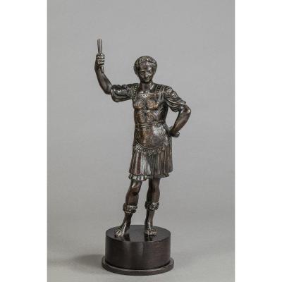César En Bronze - Italie, XVIIIe Siècle