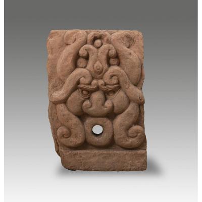 Figure Mythologique Indienne : Kala - Asie Du Sud Est