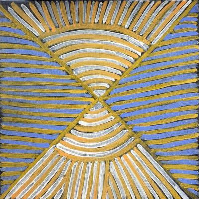 Ada Bird Petyarre: artiste d'Utopia Art Aborigène d'Australie Peinture Abstraite