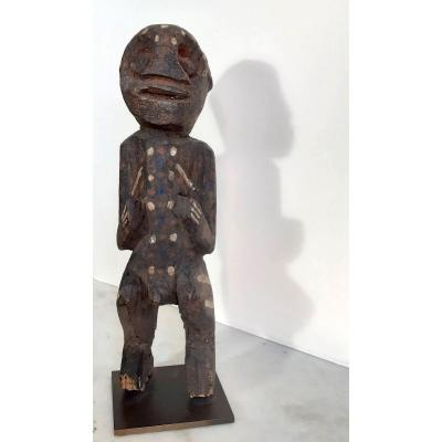 Art Tribal Africain: Ancienne Statuette Tadep,  culture Mambila, Cameroon