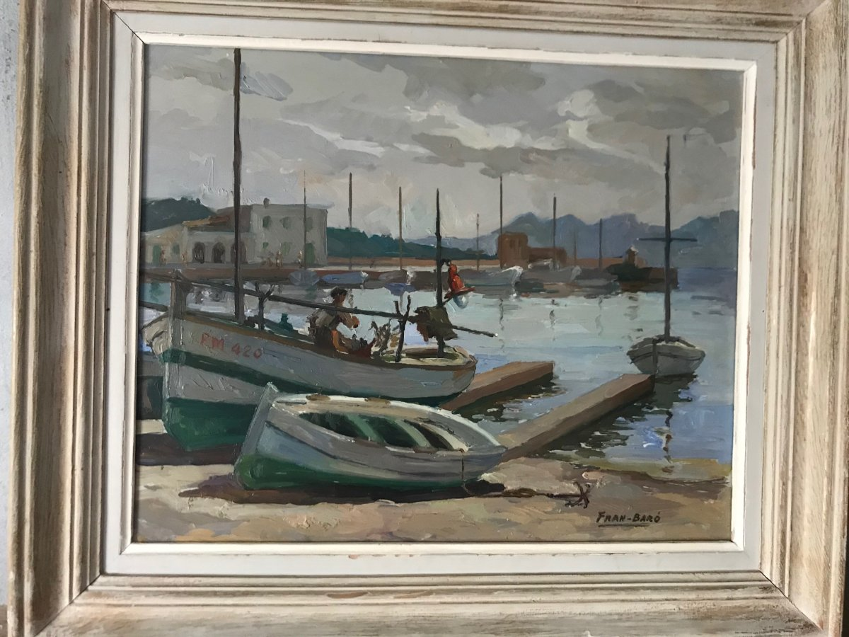 Mediterranean Port / Fran-baro
