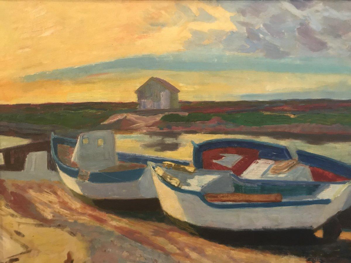 Barques Au Soleil/ Berthomme De St André