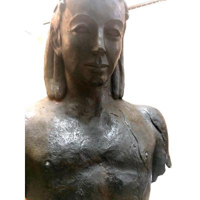 Ephèbe Minoen Au Cœur Brisé / Grand Bronze