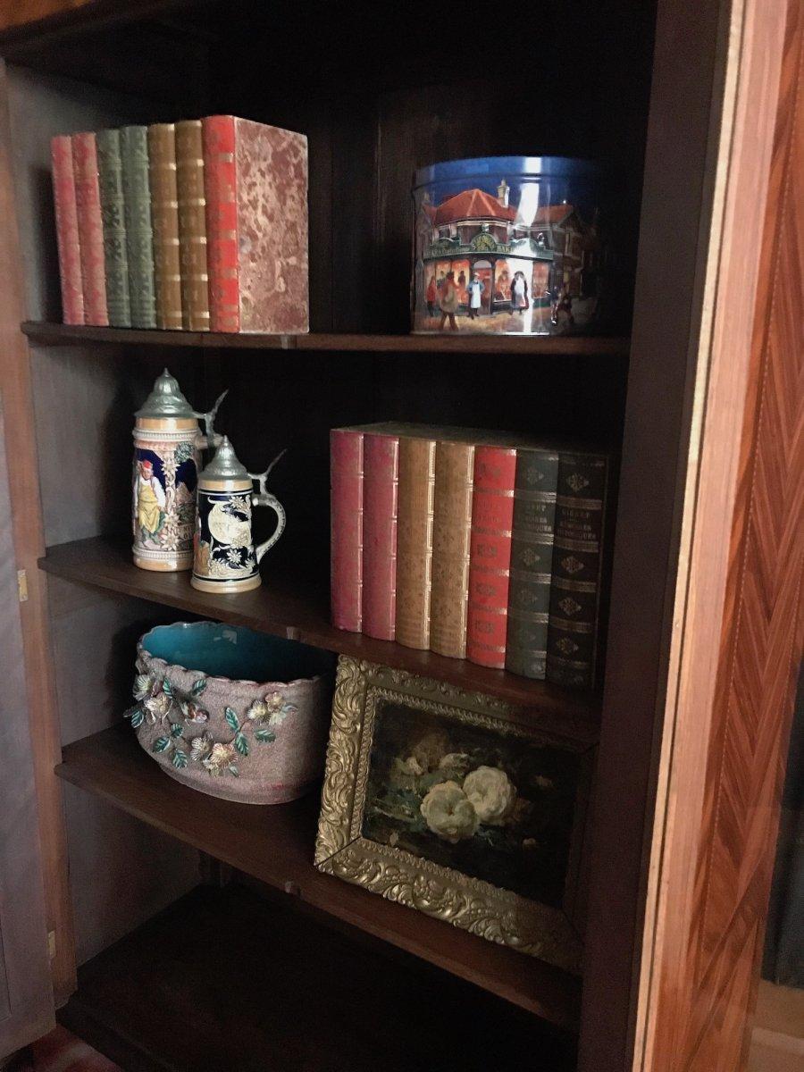 Louis XVI Style Library-photo-2