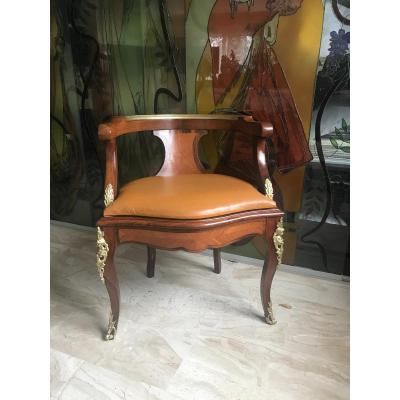 Fauteuil De Bureau Style Louis XV