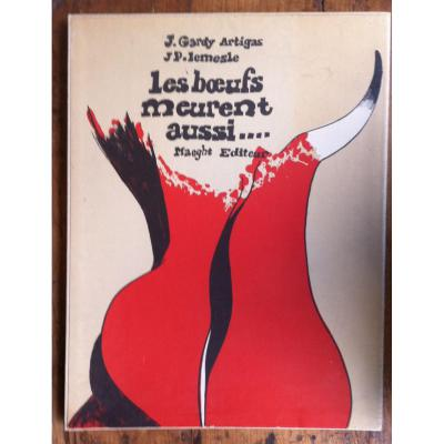 Portfolio-les Boeufs Meurent Aussi-gardy Artigas & Lemesle-lithographies-maeght