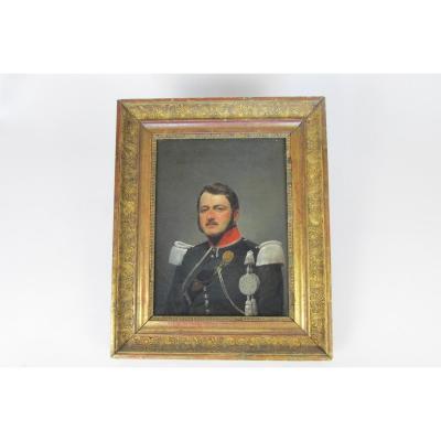 Portrait d'Un Officier Vers 1830