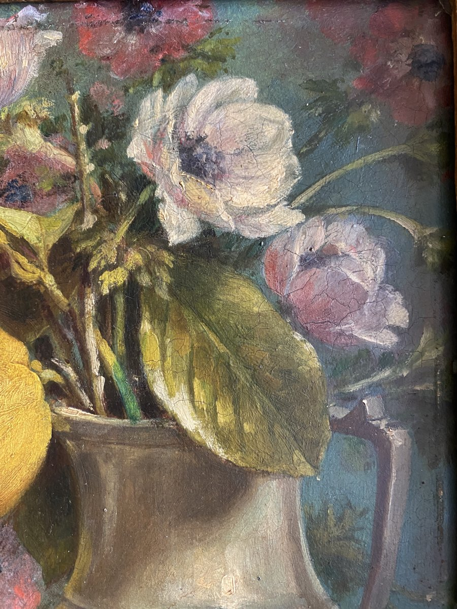 Nature Morte Aux Citrons - 19ème