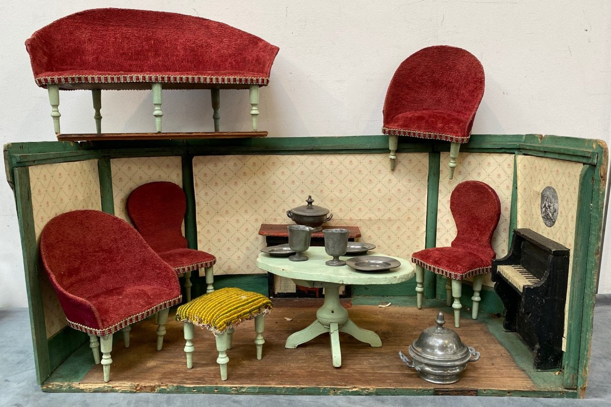 Doll Room And Salon Late 19th -