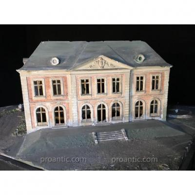 Chateau Travail de Maitrise de l'architecte Maillard Vers 1920.