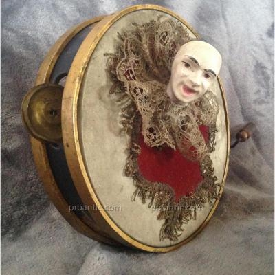 Automate - Tambourin Au Pierrot  Fin XIXème -  Vichy  -