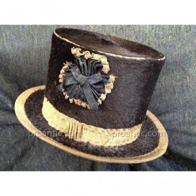 Henry d'Allemagne - Hat Miniature - 19th -