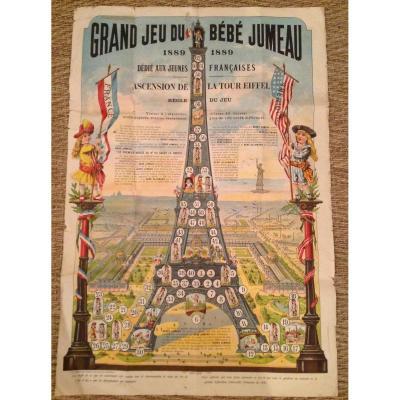 Grand Jeu Du Bébé Jumeau 1889 -