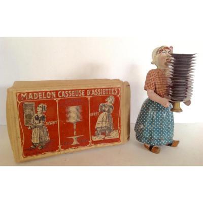 The Madelon Or Bécassine Cassette Plates. Victor Bonnet