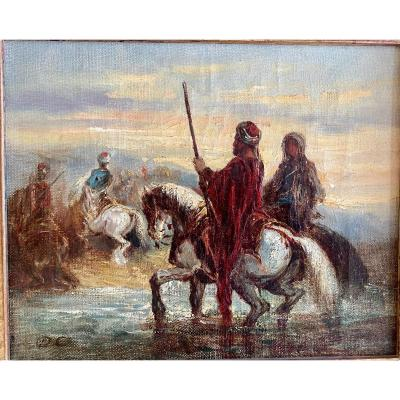 Cavaliers Turc - Decamps A.g. 1803-1860 -